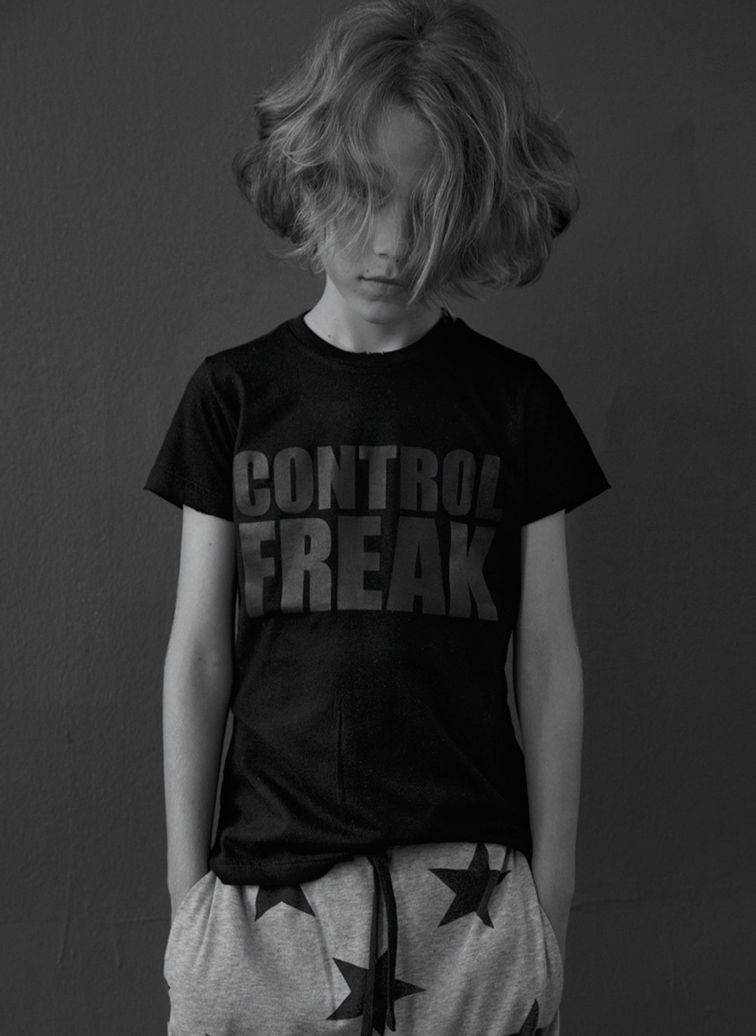 bb9e85918 Nununu Control Freak T Shirt in Black - FINAL