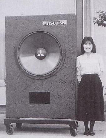 Für Leute mit kleinerem Hörraum hatte Mitsubishi tatsächlich auch eine stark abgespeckte Version im Programm.