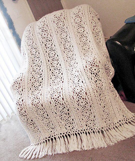Irish Lace Blanket Pattern By Patons Crochet Ii