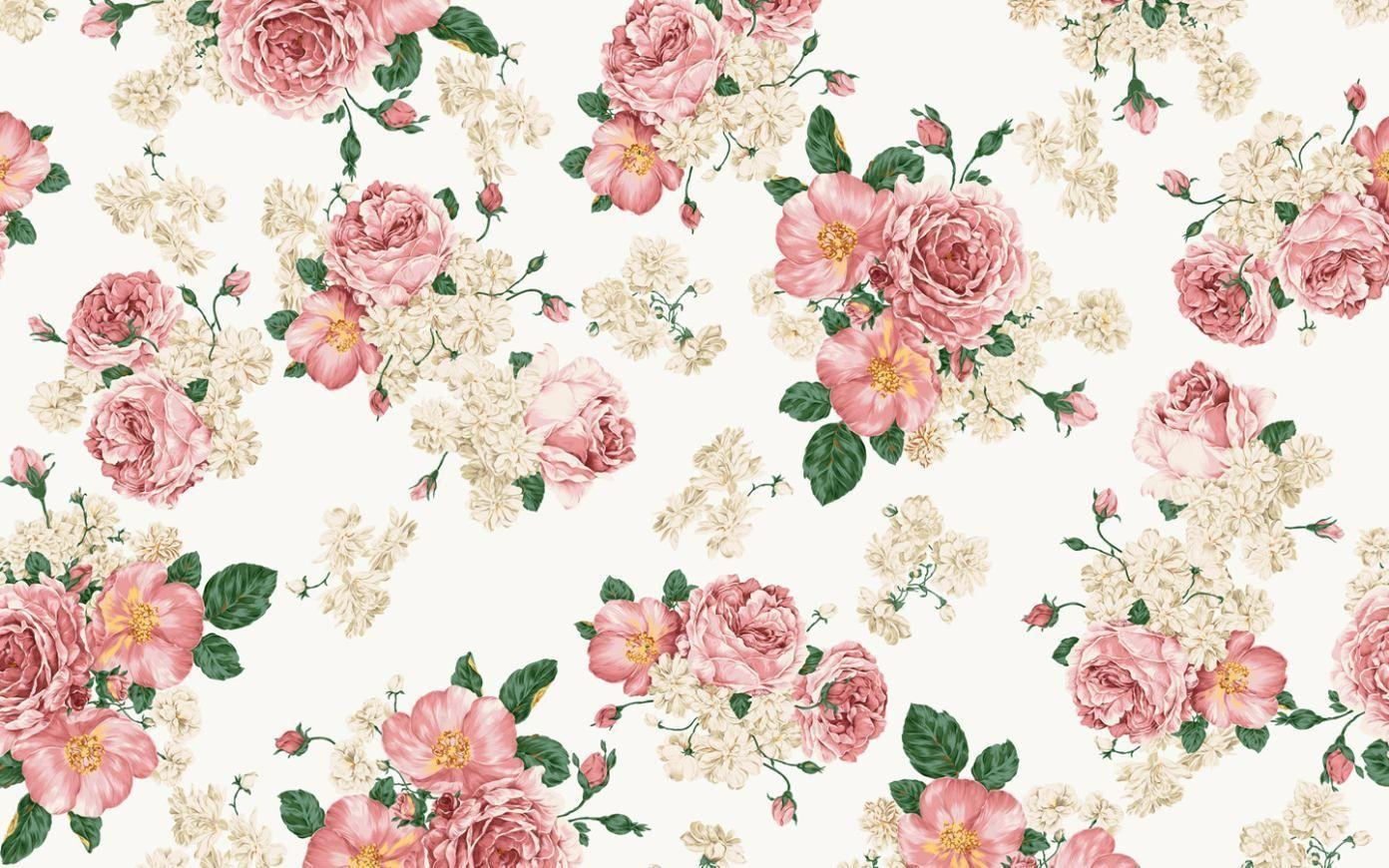 Fondos De Pantalla Hd Flores: Fondos De Flores Vintage Para Fondo De Pantalla En 3D 1 HD