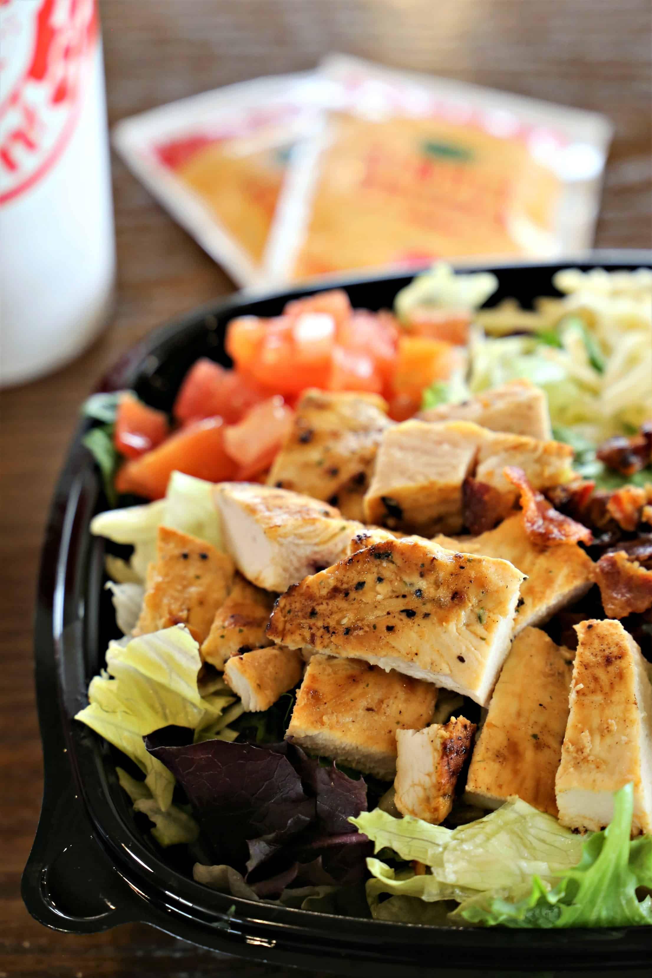 Wendy's Southwest Avocado Chicken Salad Chicken avocado