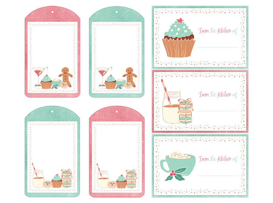 Holiday Labels Tags Free Printables And More Free Printable