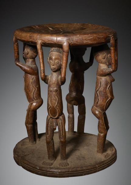Pende R D Du Congo Bois H 43 Cm Rare Et Peut Etre Unique Modele De