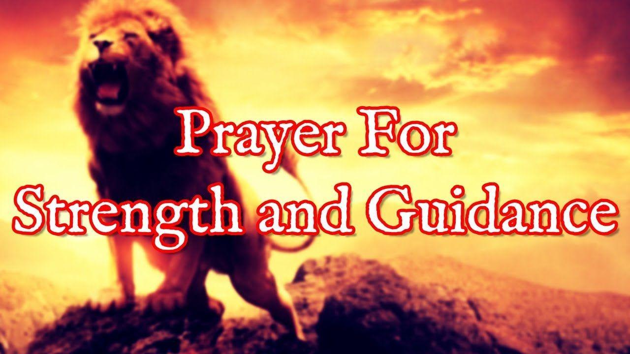 Prayer For Spiritual Strength and Guidance Get Back On
