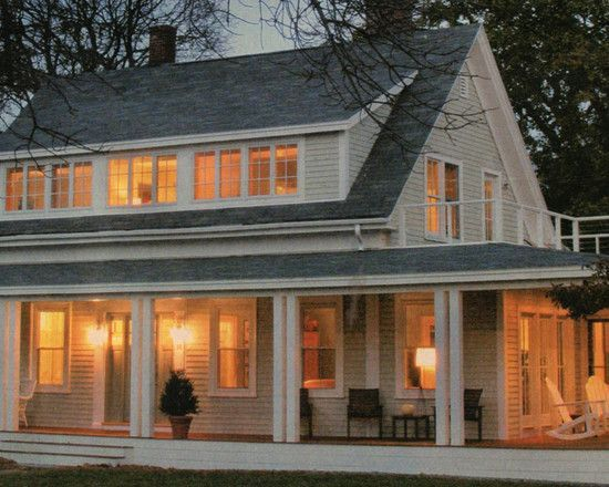 Dormer Plus Back Of The House Addition Design Pictures Remodel Decor And Ideas Porch Addition Traditional Exterior Home Additions