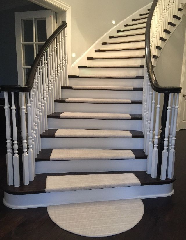 Best True Bullnose Carpet Stair Treads Custom Made To Fit 640 x 480