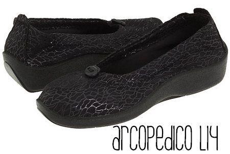 Chaussures à élastique Arcopedico noires Casual femme 0J3zcCnThs