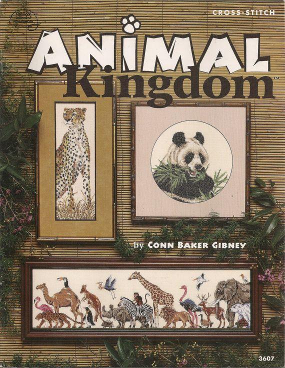 Animal Kingdom Counted Cross Stitch by needlecraftsupershop, $6.99