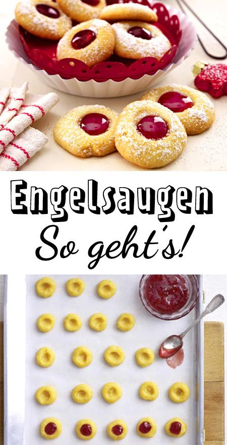 Engelsaugen backen #quickcookies
