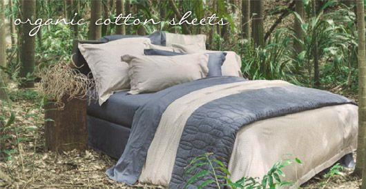 Certified Organic Cotton Sheets Bed Linen Australia