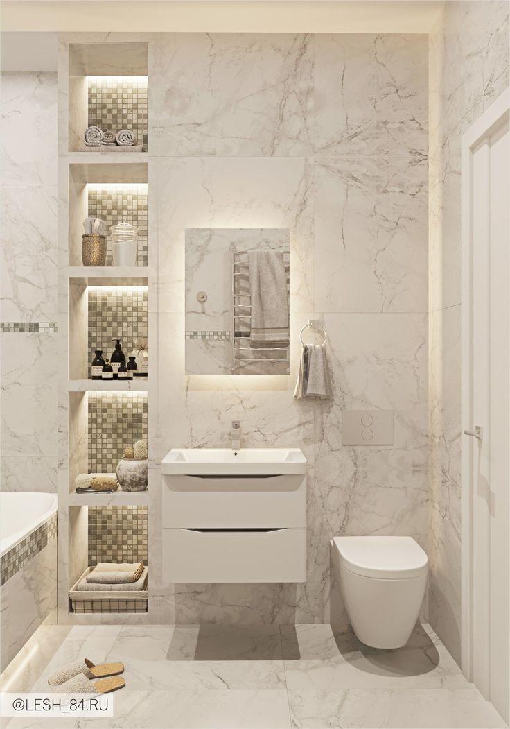 Badezimmer mit Marmorfliesen in hellen Farben, Badezimmer mit Marmorfliesen in hellen Farben. - #Badezimmer #bathroom #Farben #hellen #Marmorfliesen #mit #bathroomtiledesigns