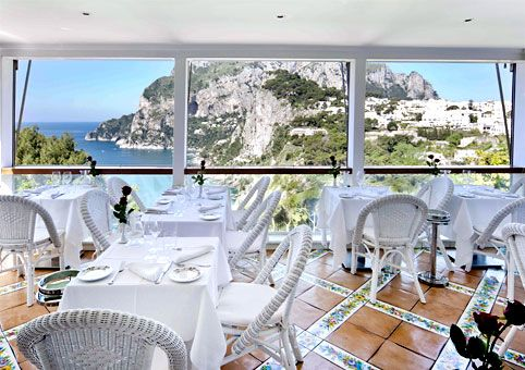 Terrazza Brunella A Romantic Restaurant On Capri Travel