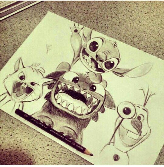 Sooo Cute Omg Cute Little Drawings Disney Drawings