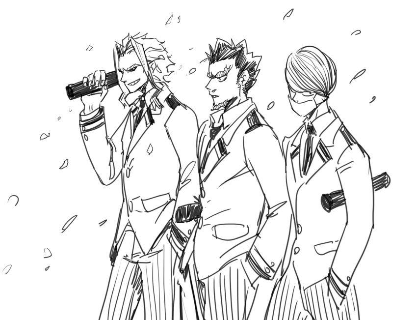 Boku No Hero Academia All Might Todoroki Enji Hakamata