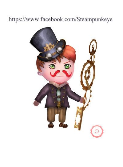 Chibi Steampunk by Steampunkeye.deviantart.com on @DeviantArt