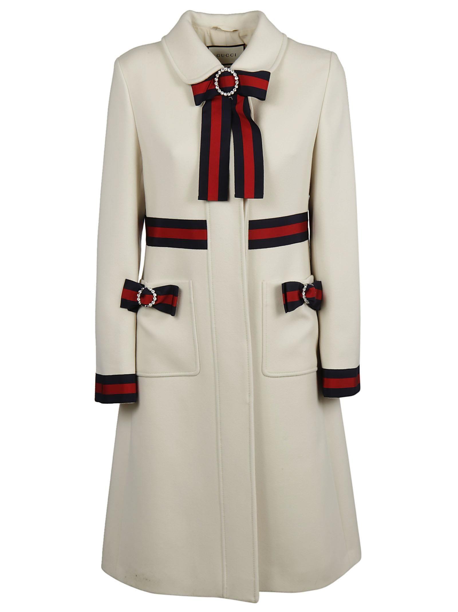 e6ec83049 GUCCI GUCCI WEB-TRIMMED COAT. #gucci #cloth #   Gucci in 2019 ...