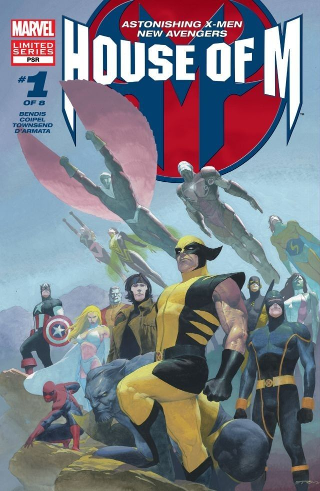 House Of M 1 Of 8 Comics By Comixology Marvel Comics Art Marvel Heroes Marvel Events