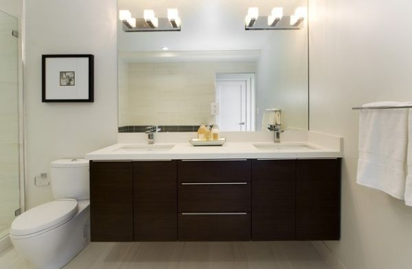 Contemporary Bathroom Vanity Lighting