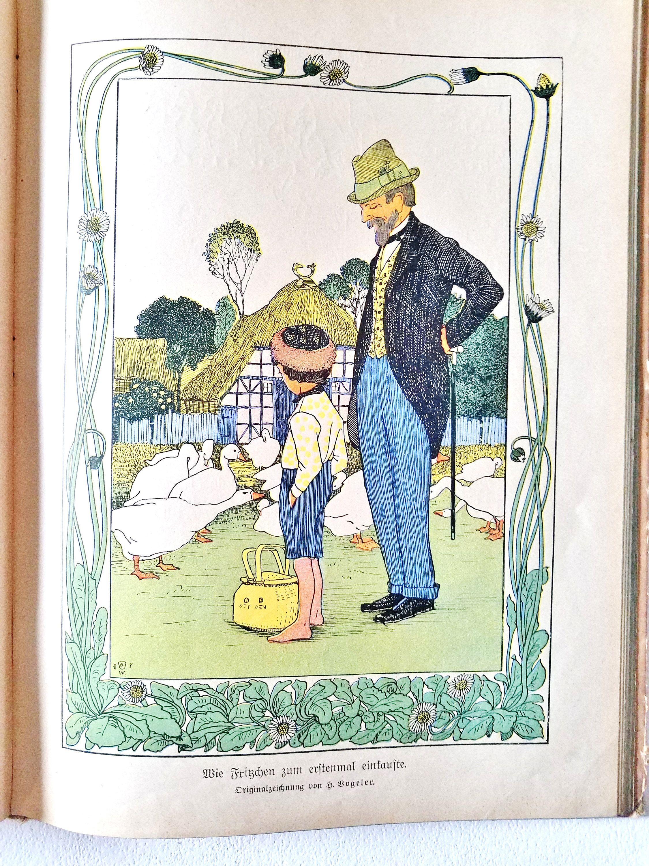 1910 GERMAN CHILDREN Book, German Language, Lots of Illustrations, 72  Stories and Poems, Ernst Kreidolf, A Schmidhammer, by AlpineCountryLooks on  Etsy