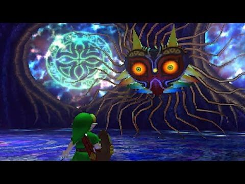 The Legend Of Zelda Majora S Mask 3ds All Bosses And Mini
