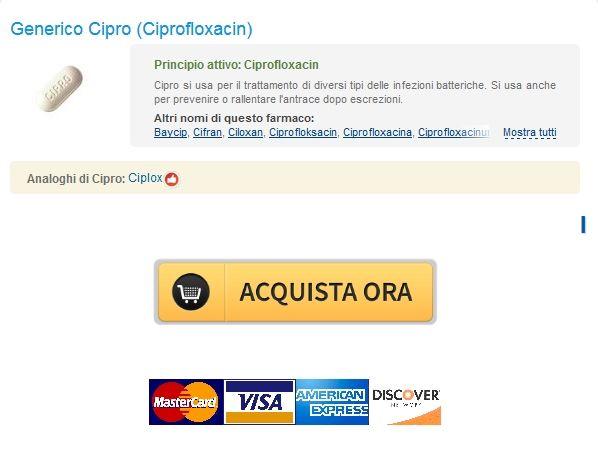 Farmacia sicuro di acquistare farmaci generici / Generico Ciprofloxacin 1000 mg Basso costo / Liberano Corriere Consegna