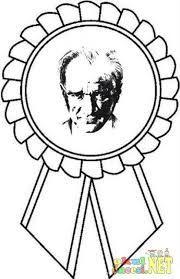 Okul öncesi Kafa Boyama Ile Ilgili Görsel Sonucu Ataturk