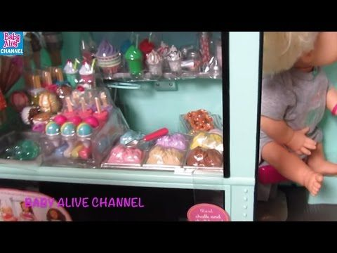 BABY ALIVE Our Generation Sweet Stop Ice Cream Truck Unboxing  Review! By ... - https://t.co/kVfEGm73sK  - https://t.co/w3E2V8pHNg