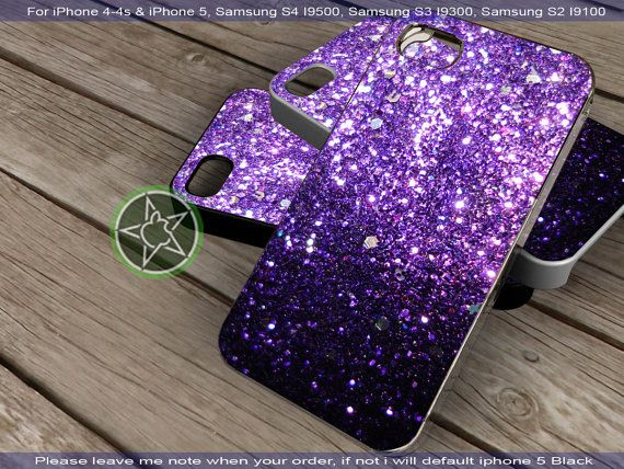 Glitter Print Ombre Fade Pattern for iPhone 4 by sumipancenayu, $15.55