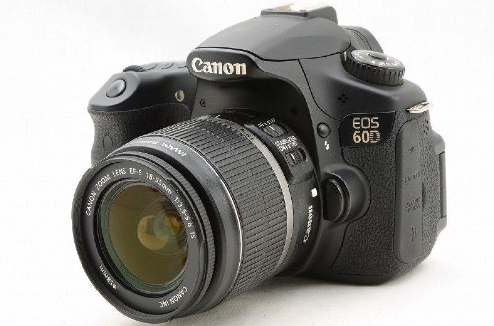 14590 Canon Eos 60d Double Lenses Set Excellent Japan Import F S To U S A Eos Canon Canon Eos