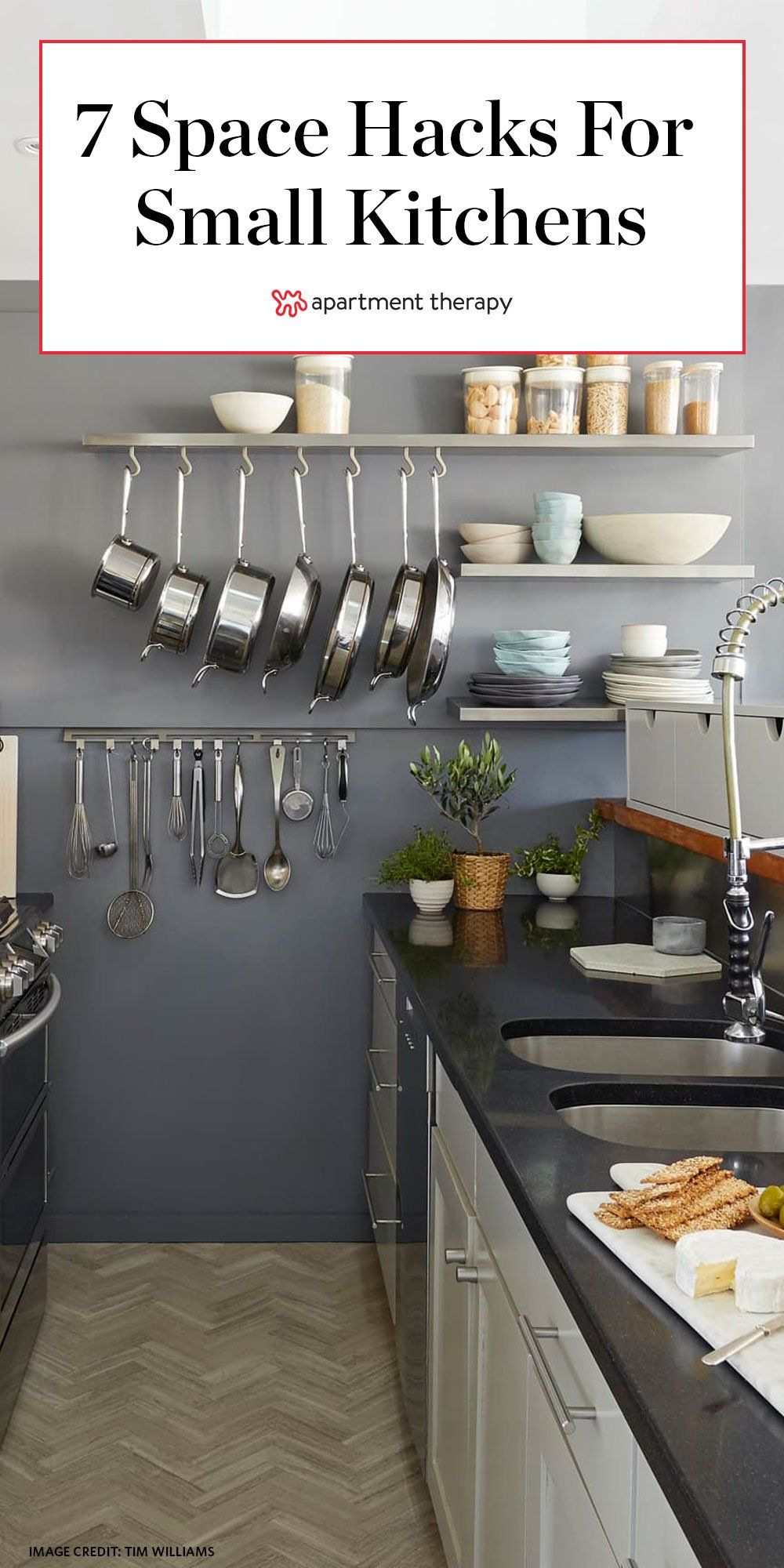 7 Small Kitchen Items That Make A Big Difference According To Interior Designers Small Kitchen Items Small Kitchen Storage Kitchen Remodel Small