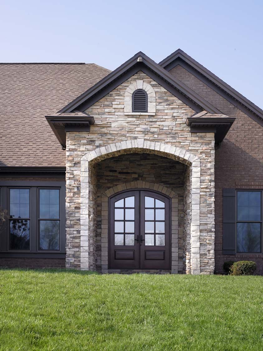 Andrew Johnson A Floor Plan - Exterior Detail - Lake Forest - Owensboro, KY
