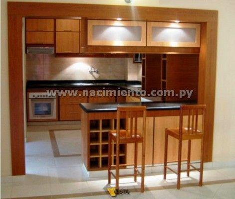 Muebles disenos cocina desayunador casita pinterest - Muebles de cocina en paraguay ...
