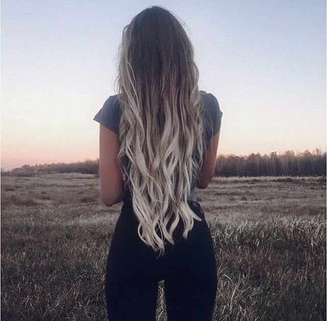 Light Blonde Ombr 233 Dark Brown Hair Hair I Want In 2019