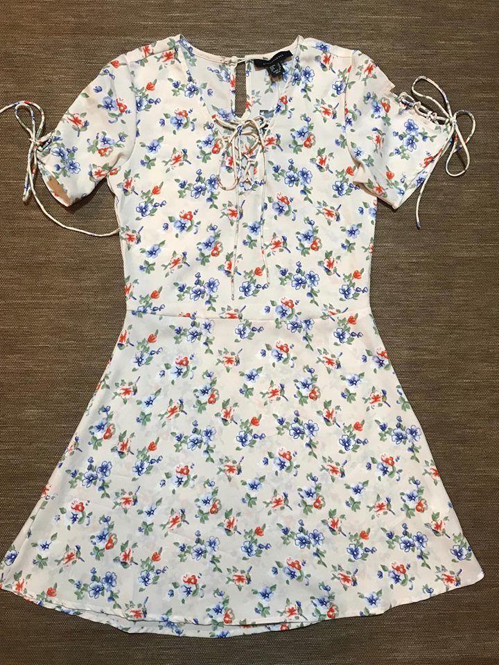 dba4ee20670b Tea Dresses Uk, Primark, Floral Tops, Floral Prints, Short Sleeve Dresses,
