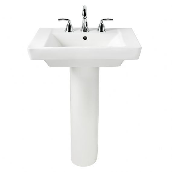 American Standard 0641 100 Pedestal Sink Modern Pedestal Sink Sink