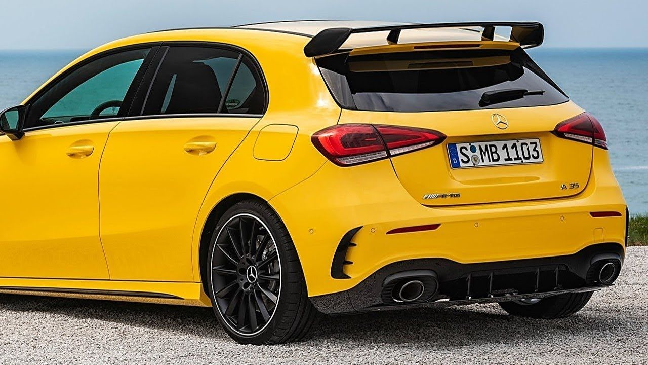 2019 Mercedes Benz A Class Amg A35 4matic Cars Technology