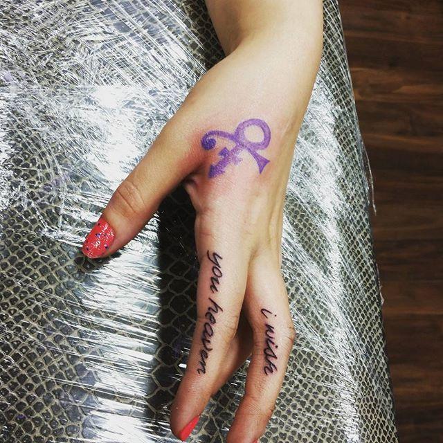 40 Superfunkycalifragisexy Prince Tribute Tattoos In 2018 Tattoos