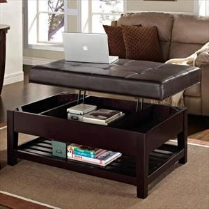 Picture Of Tufted Cocktail Ottoman With Lift Top Storage Bed Bath And Beyond Living Room In 2019 Ottoman Table Furniture Nebraska Furniture Mart