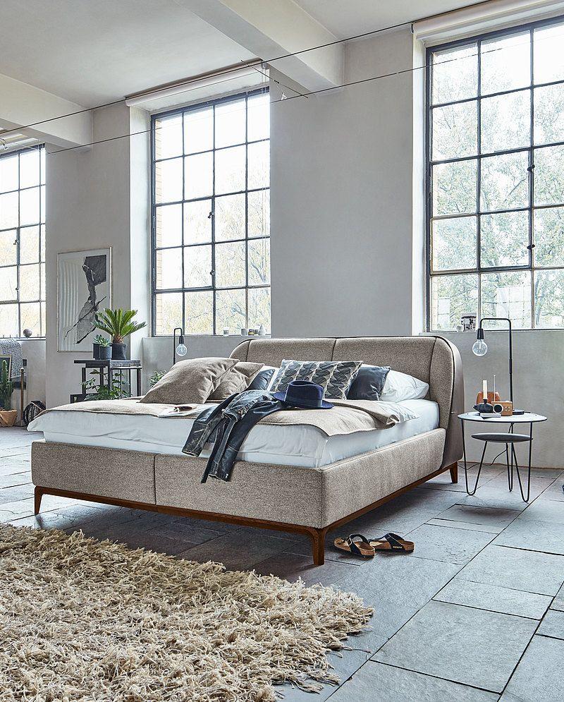 Birkenstock Boxspringbett Maine   Bett, Bett möbel, Bett mit bettkasten