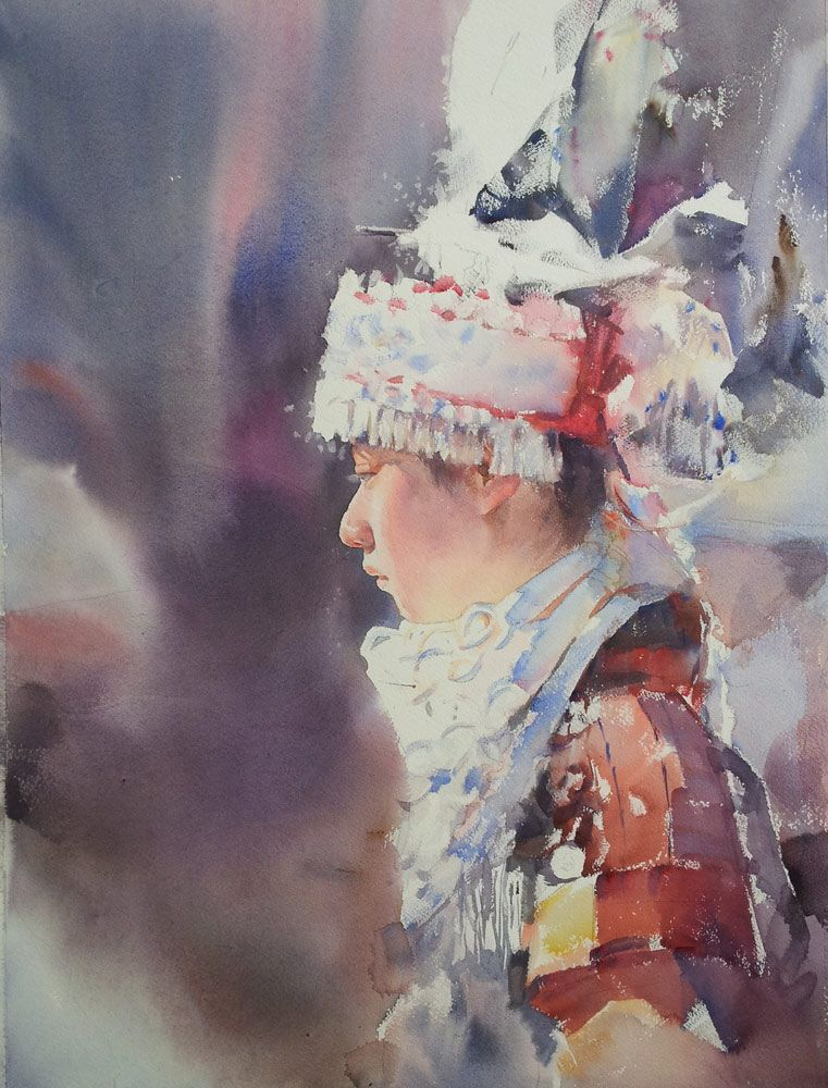 Liu Xide Interview Watercolor Art Chinese Artists