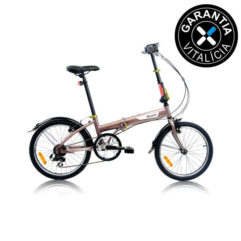 01a46a04c Bicicleta Dobrável Btwin Hoptown 5 em Promoção - Decathlon