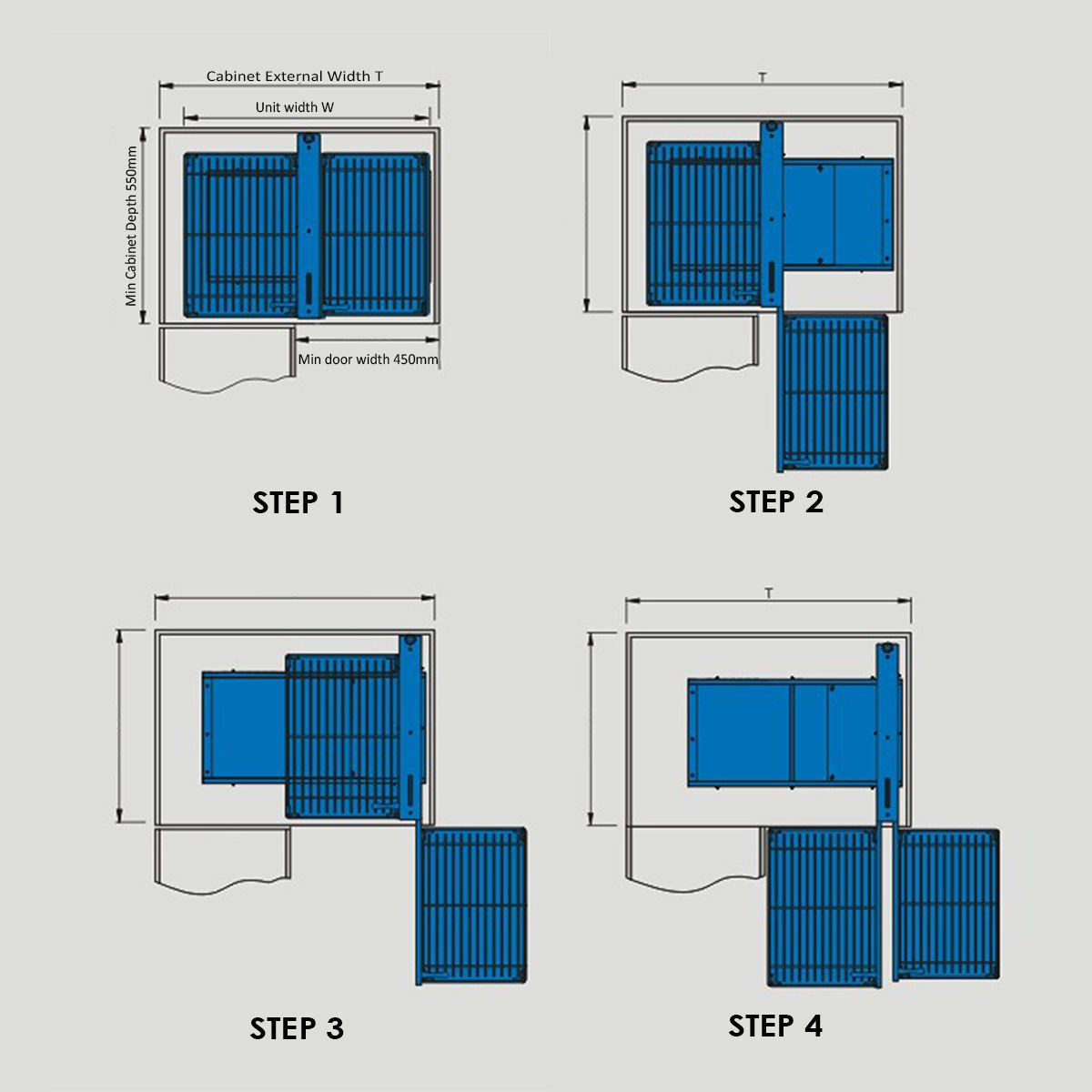 Magic Corner II | Kitchen storage solutions, Blind corner ...