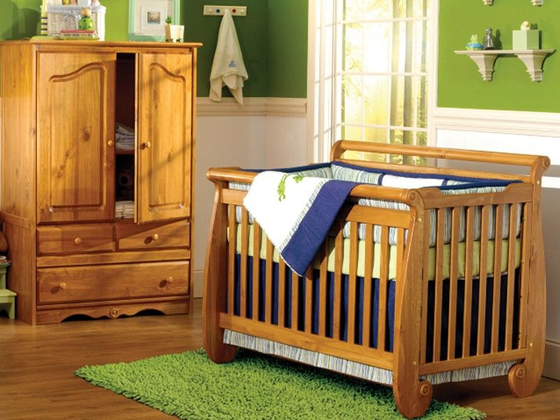 Serenity Crib By Baby S Dream Shown In Chestnut Cribs Furniture Baby Cribs