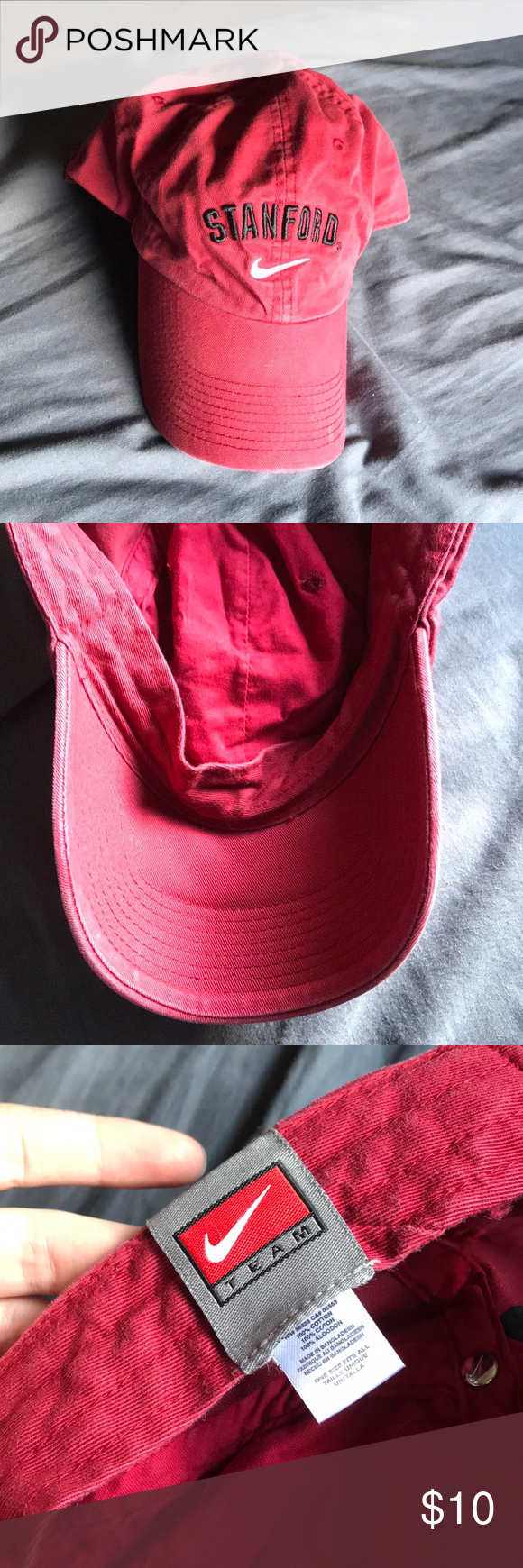 best website ded1f bc875 Nike Stanford hat Nike Stanford hat, adjustable size, no flaws Nike  Accessories Hats