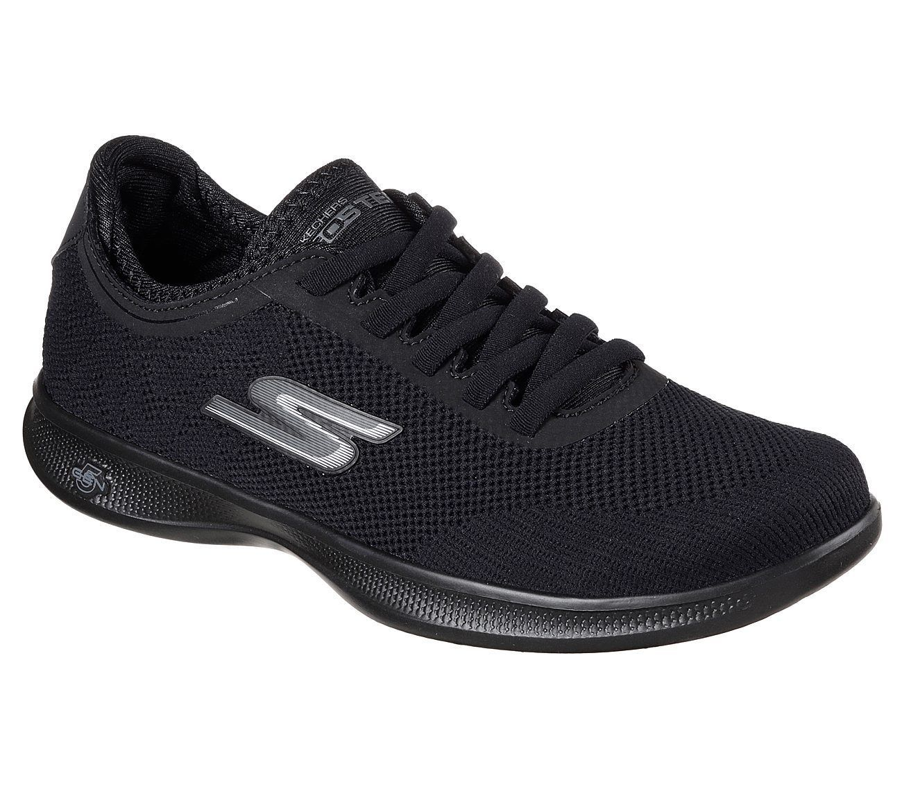 14712 Black Skechers Shoes Go Step Lite
