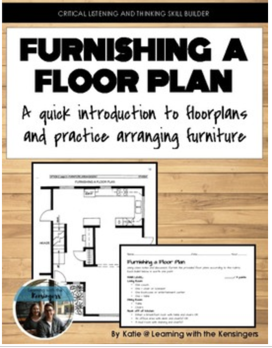 Furnishing A Floor Plan Assignment And Resources Family And