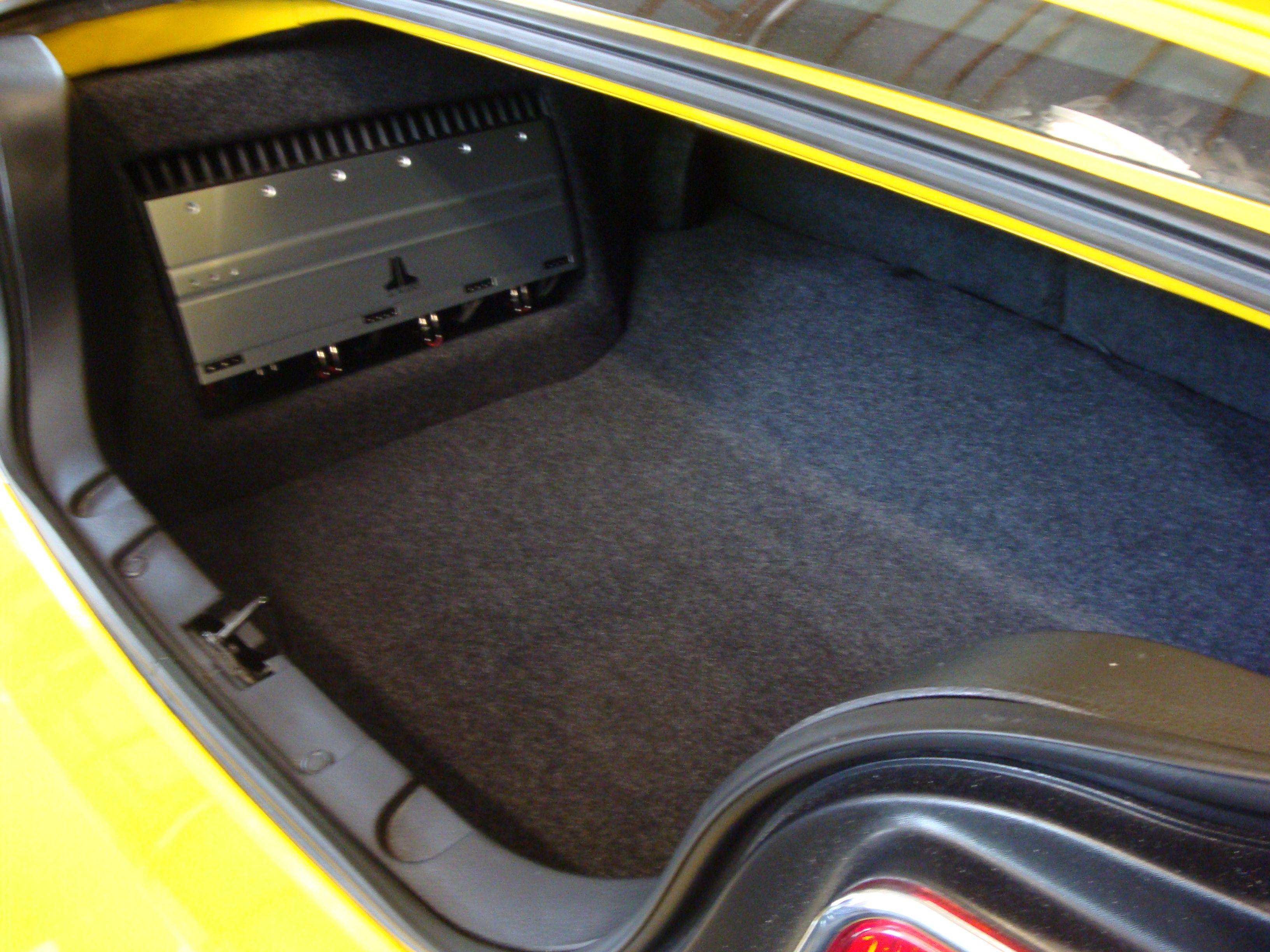 Another Mustang Amp Rack Custom Car Audio Car Audio