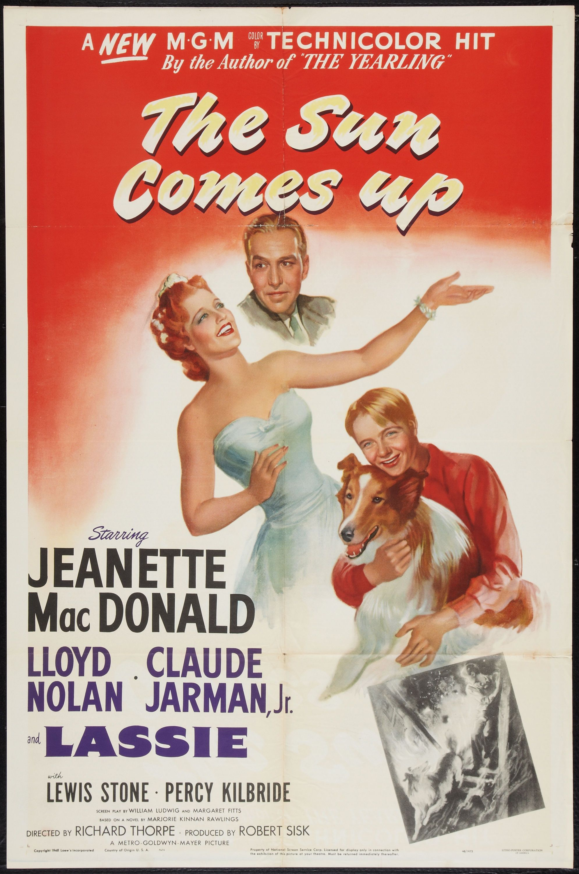 Image result for the sun comes up 1949