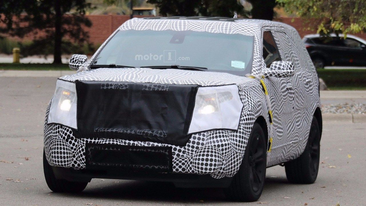 2019 ford explorer concept redesign and release date car rumor