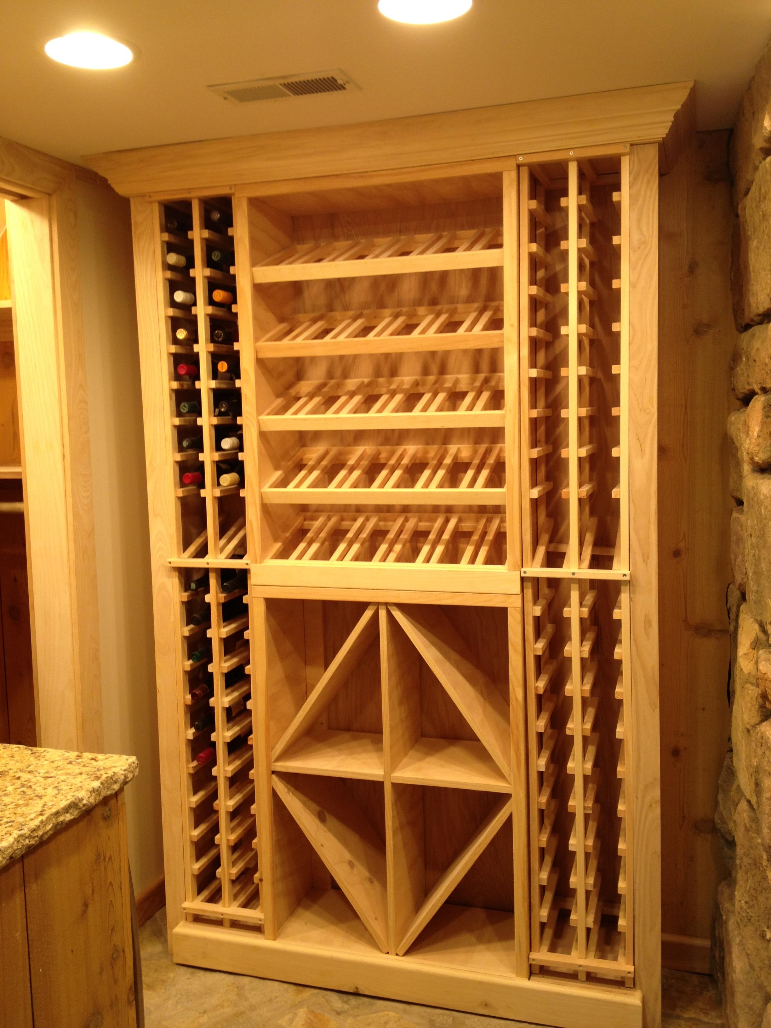 Wine cellar designs for small spaces wine cellar racks - Wine cellar designs for small spaces ...